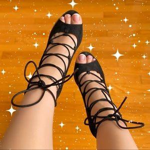 Aldo Black Tie Heels